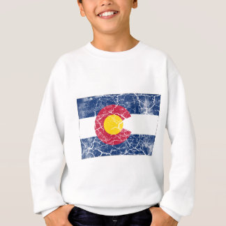 Colorado State Flag Vintage Sweatshirt