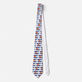Colorado State Flag Vintage Tie