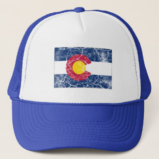 Colorado State Flag Vintage Trucker Hat