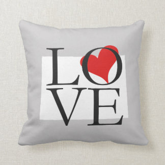 Colorado State Love Pillow