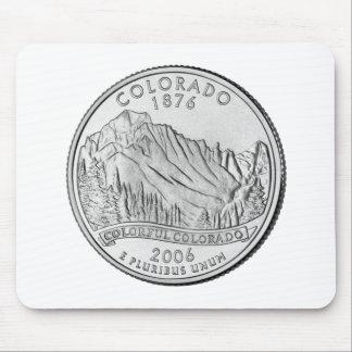 Colorado State Quarter Mouse Pads