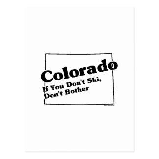 Colorado State Slogan Post Card