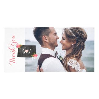 Colorado State Wedding Photo Thank You Card