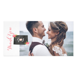 Colorado State Wedding Photo Thank You Card Customized Photo Card