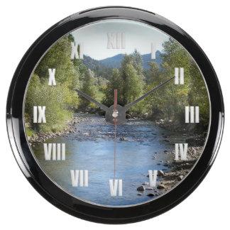 Colorado Stream photo - Estes Park Aquavista Clock