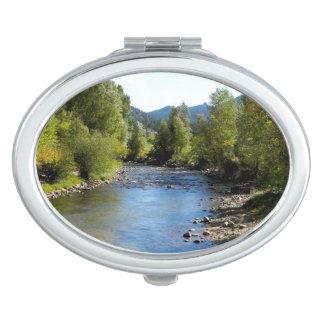Colorado Stream photo - Estes Park Compact Mirrors