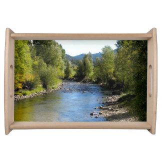Colorado Stream photo - Estes Park Serving Platter