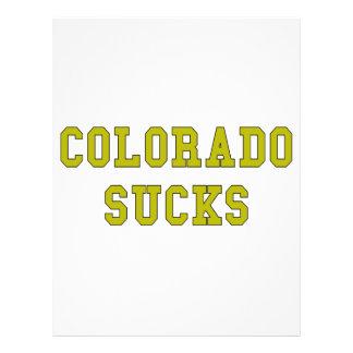 Colorado Sucks 21.5 Cm X 28 Cm Flyer