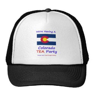 Colorado TEA Party - We re Taxed Enough Already Trucker Hat