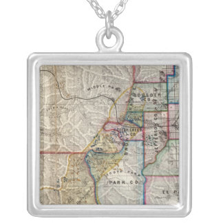 Colorado Territory Silver Plated Necklace