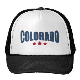 Colorado Three Stars Design Trucker Hat
