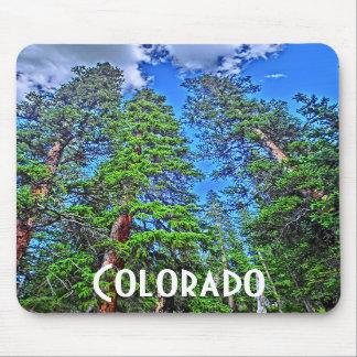 Colorado trees mousepad