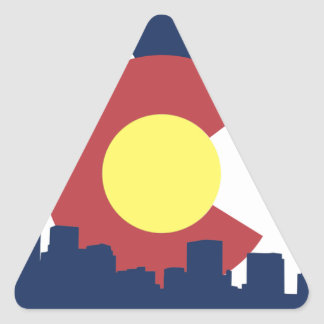 Colorado Triangle Sticker