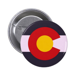 Colorado Tribute 6 Cm Round Badge