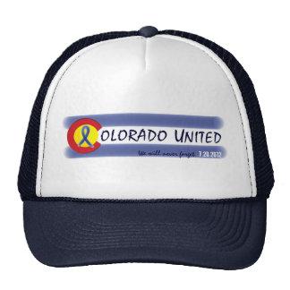 Colorado United state flag symbol memory hat