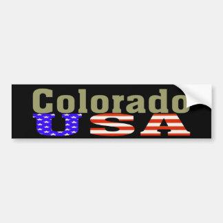 Colorado USA! Bumper Sticker