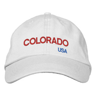 Colorado* USA Colorful Cap Embroidered Hats
