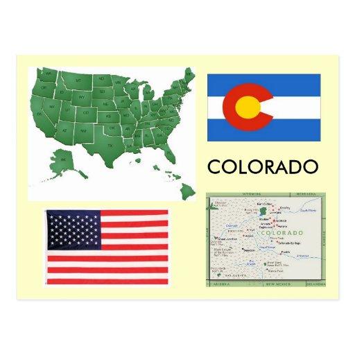 Colorado, USA Postcard