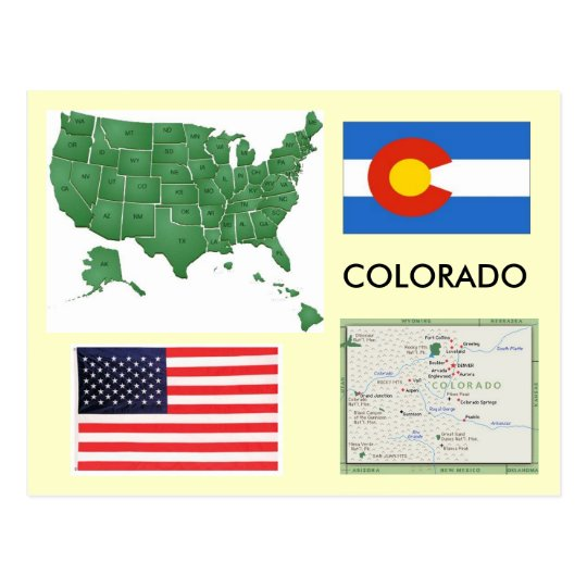 Colorado, USA Postcard