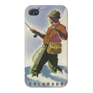 Colorado USA Vintage Travel cases iPhone 4 Case
