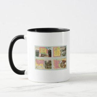 Colorado, Utah, Montana, Minnesota Mug