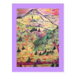 colorado  village postcard