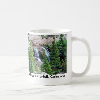 Colorado waterfall coffee mug