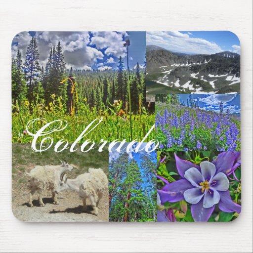 Colorado wildlife mousepad