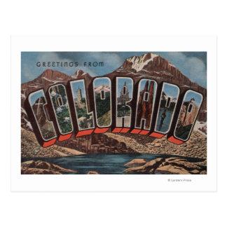 ColoradoLarge Letter ScenesColorado Postcard