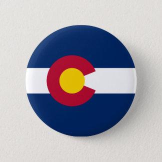 Colorado's Flag 6 Cm Round Badge