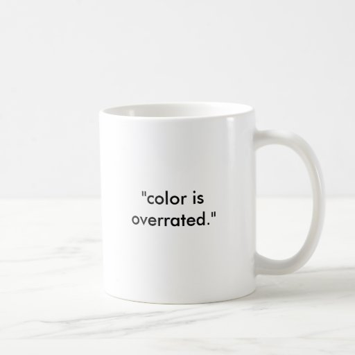 colorblind color overrated coffee mugs