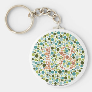 Colorblind Test Keychain