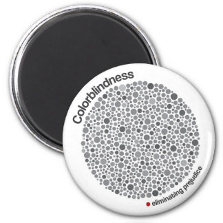 Colorblindness 6 Cm Round Magnet