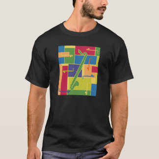 Colorblocks Dark T-Shirt