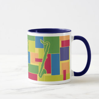 Colorblocks Mug - Bass Clarinet