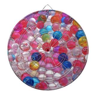 colore jelly balls texture dartboard