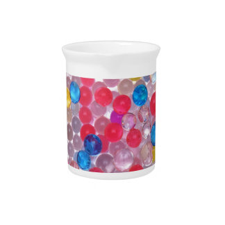 colore water balls pitcher