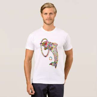 Colored 1 3D Dolphin T-Shirt