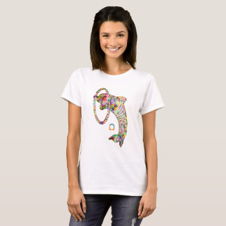 Colored 2 3D Dolphin T-Shirt