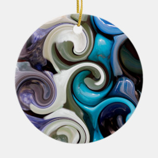 colored background texture christmas ornament