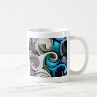 colored background texture coffee mug