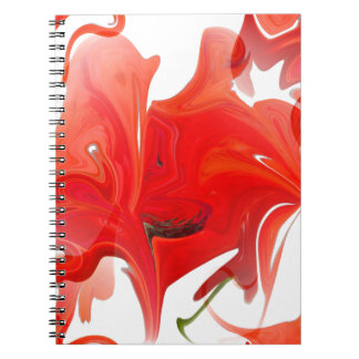 colored background texture notebook