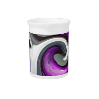 colored background texture pitcher
