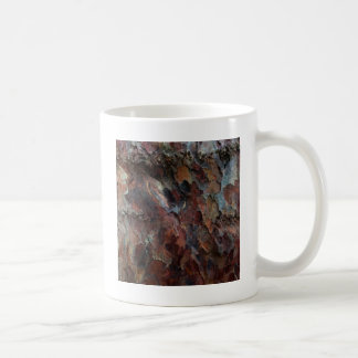 Colored Bark Basic White Mug