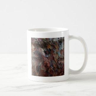 Colored Bark Coffee Mugs