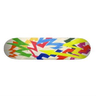 Colored Blizzard by JK Skate Board