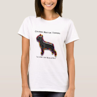 Colored Boston Terrier T-Shirt