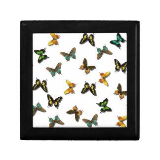 Colored Butterflies Art Gift Box