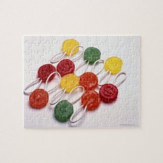 colored candy jigsaw puzzle