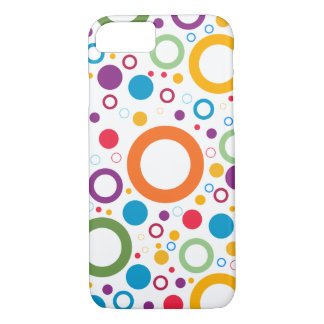 Colored Circles iPhone 8/7 Case